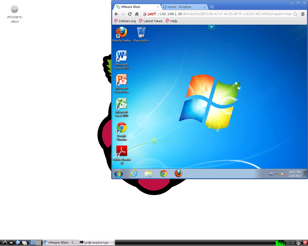 Raspberry Pi as a Horizon View Client | Virtual Thoughts