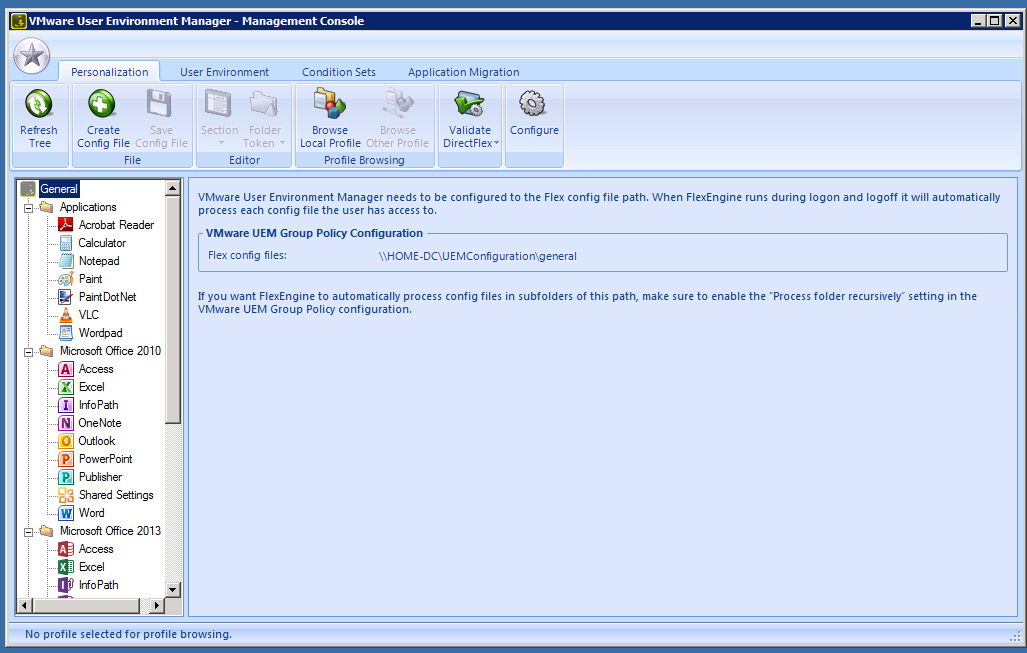 VMware User Environment Manager (UEM) – Part 1 – Overview