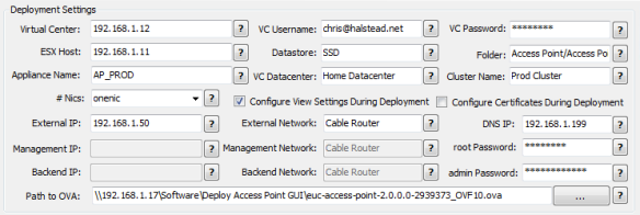 VMware Access Point Deployment Utility | Virtual Thoughts